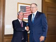越南驻美国大使范光荣访问华盛顿州