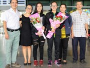 越南羽毛球小将获得亚洲铜牌