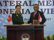 越南与印度尼西亚签署防务合作共同愿景声明