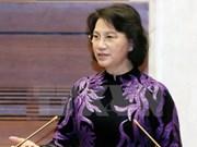 越南国会主席阮氏金银对哈萨克斯坦进行正式访问