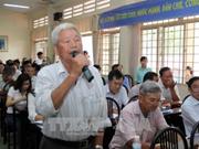 胡志明市委书记阮善仁:不让群众的不满情绪升温发酵