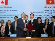 越南胡志明市与加拿大多伦多市加强友好合作关系