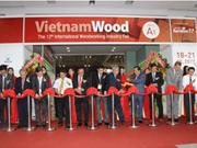 2017年第12届越南国际木工机械展正式开幕