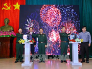 越南人民军报网老挝语和高棉语版正式开通