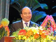 阮春福出席广南—岘港特区区委成立50周年纪念典礼