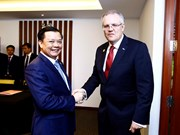 越南财政部与澳大利亚财政部签署合作备忘录