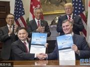 新加坡航空公司与美国波音公司签署价值138亿美元的客机购买协议