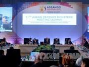 东盟各国防长呼吁朝鲜恢复对话谈判