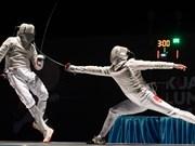 2017年亚洲U23击剑锦标赛即将在河内开幕