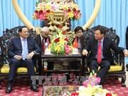 老挝副总理宋赛·西潘敦访问槟椥省