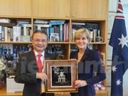 越南与澳大利亚努力将双边关系提升到新水平