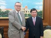 开发胡志明市与芬兰的合作潜力