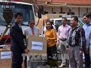 越南政府援助柬埔寨发射机交接仪式在金边举行