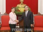 2020年气候变化倡议领导高度评价越南为应对气候变化所做出的努力