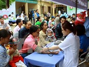越共第十二届六中全会关于保护和提升民众健康水平的决议