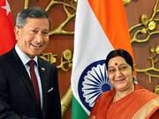 新加坡与印度加强关系