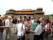 今年前10月承天顺化省国际游客接待量同比增长35%