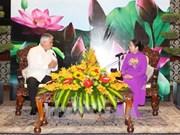 胡志明市希望同古巴在生物技术、医疗卫生、教育、旅游等领域加强合作