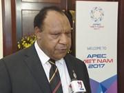 2017年APEC会议:巴布亚新几内亚希望学习借鉴越南举办APEC会议的经验