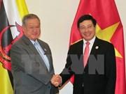 政府副总理兼外长范平明会见文莱外交与贸易部第二部长林玉成