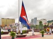 柬埔寨独立日64周年庆典在独立纪念碑隆重举行