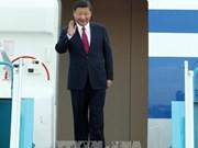 中共中央总书记、国家主席习近平抵达越南岘港国际机场