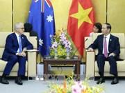 陈大光与澳大利亚总理和文莱国王举行双边会晤