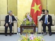 陈大光主席会见亚洲基础设施投资银行行长金立群