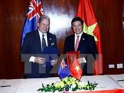 2017年APEC会议:范平明会见新西兰和巴新两国外长