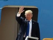 美利坚合众国总统唐纳德·特朗普开始对越南进行国事访问