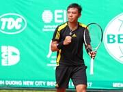 2017年越南男网F1未来赛:李黄南晋级半决赛
