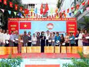越南国家副主席邓氏玉盛出席在胡志明市举行的全民大团结日纪念活动