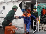 菲律宾向越南移交江海号3名船员
