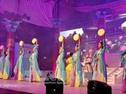 胡志明市与韩国庆州市文化交活动在阮惠步行街举行
