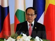 东盟秘书长黎良明:东盟与中国加强全面战略合作