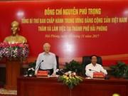 阮富仲总书记:建设绿色、稳定、现代与可持续发展的海防市