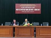 首次越南咖啡日将于12月举行