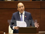第十四届国会第四次会议:政府总理阮春福接受国会代表质询