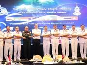 东盟各国海军加强合作保护海洋环境