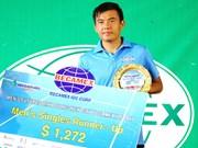 2017年男网F2未来赛:李黄南无缘冠军