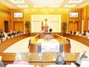 国会主席阮氏金银会见世界和平理事会执委会代表团