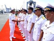 马来西亚皇家海军两艘军舰访问胡志明市