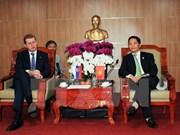 推动越南与斯洛伐克在贸易领域的合作