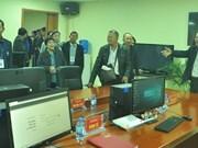 泰国北碧府新闻记者协会代表团访问广宁报社