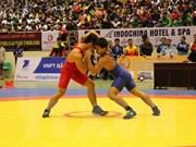 东南亚古典式自由式摔跤锦标赛:越南摔跤队获得绝对胜利
