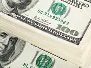 25日越盾兑美元中心汇率上涨1越盾