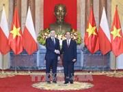 越南与波兰发表联合声明 致力加强传统友好合作关系