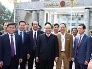 阮春福: 河江省应努力实现扶贫  大力推动经济结构调整