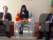 越南与阿尔及利亚加强双方合作