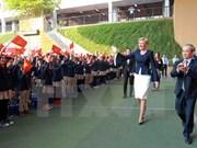 波兰总统安杰伊·杜达夫人探访河内居里夫人学校